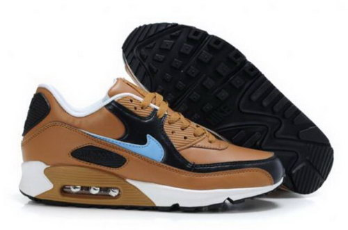 Nike Air Max 90 Mens Shoes Brown Black Photo Blue China
